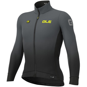 Alé Cycling PRS Dots DWR Longsleeve Jersey Heren, black-grey